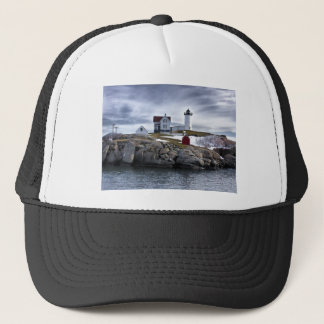 "The ""Nubble"" Cape Neddick lighthouse York, Maine Trucker Hat"