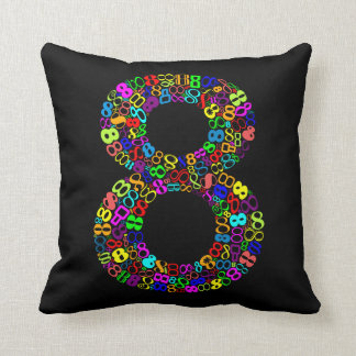 The Number Eight Cushion