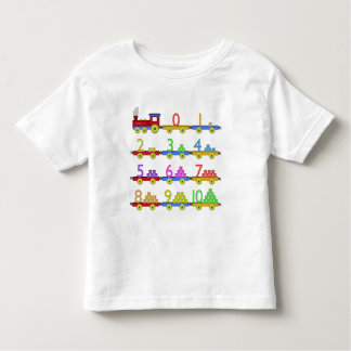 The Number Train Toddler T-Shirt