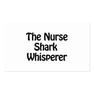 the nurse shark whisperer pack of standard business cards