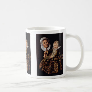 The Nurse With The Child By Hals Frans Coffee Mugs
