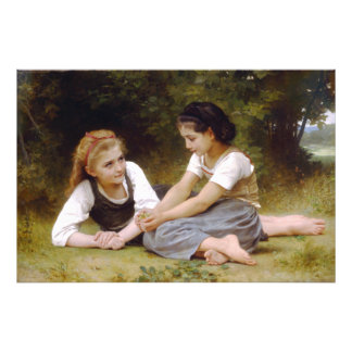 The Nut Gatherers by W.A. Bouguereau Photograph