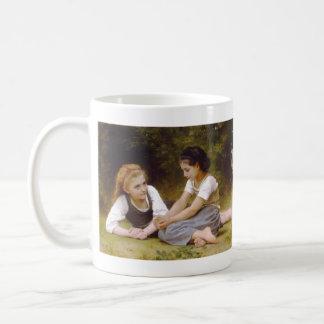 The Nut Gatherers by William Adolphe Bouguereau Coffee Mug
