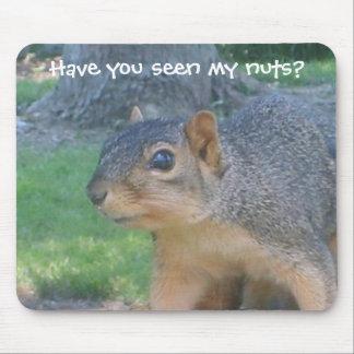 """The Nut Hunter"" Mousepad"