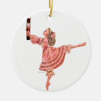 The Nutcracker Ballet Keepsake Ornament with Clara