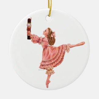 The Nutcracker Ballet Round Ornament
