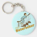 The Nutcracker Basic Round Button Key Ring