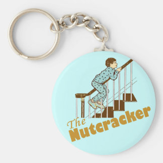 The Nutcracker Basic Round Button Key Ring