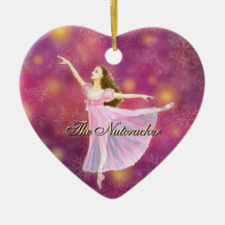 The Nutcracker Heart Ornament with Clara