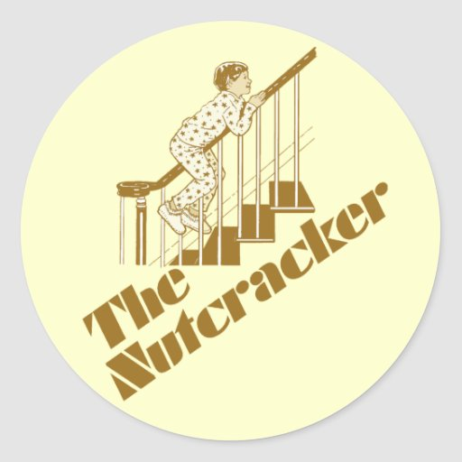 The Nutcracker Round Sticker