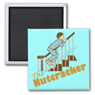 The Nutcracker Square Magnet