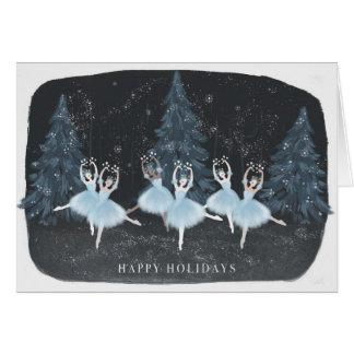 The Nutcracker: Waltz of the Snowflakes Card