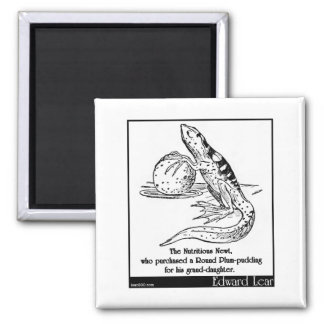 The Nutritious Newt Refrigerator Magnet