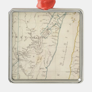 The NW and Mich territories Christmas Ornament