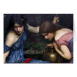 The Nymphs Finding Orpheus Greeting Card