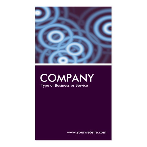 The O Factor Business Card Templates