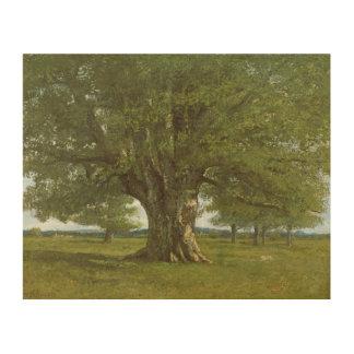 The Oak of Flagey, called Vercingetorix 2 Wood Wall Art
