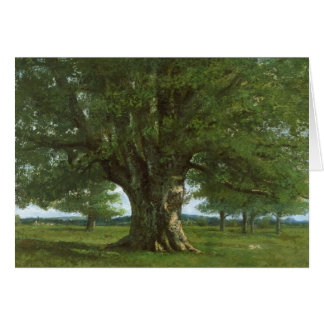 The Oak of Flagey, called Vercingetorix Card
