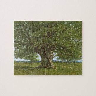 The Oak of Flagey, called Vercingetorix Jigsaw Puzzle