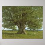 The Oak of Flagey, called Vercingetorix Print