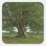 The Oak of Flagey, called Vercingetorix Stickers