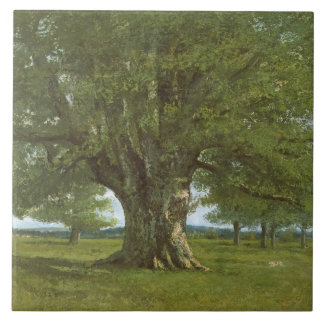 The Oak of Flagey, called Vercingetorix Tile