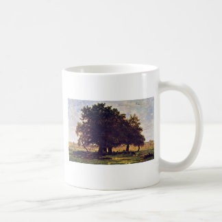 The Oaks Of Apremont By Rousseau Théodore Coffee Mugs