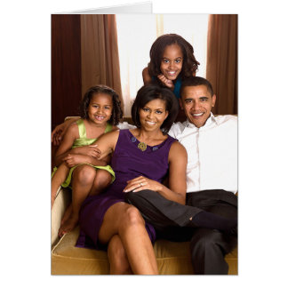 The Obama Family Card