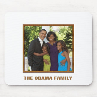 THE OBAMA FAMILY - Customized Mouse Mat