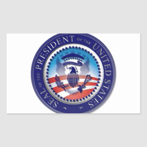 The Obama Seal Rectangle Stickers