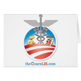 The ObamaCare Lie Card