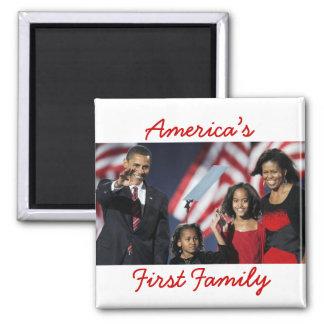 The Obamas America s 1st Family Magnet