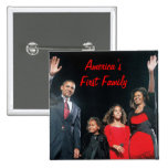 The Obamas: America's 1st Family Buttons