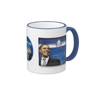 the obamas collage morph mug