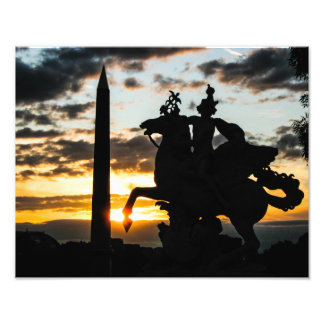 The Obelisk in Place de la Concorde - Photo Print