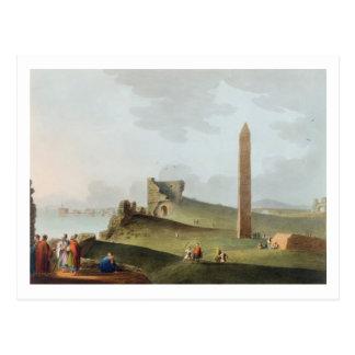 The Obelisks at Alexandria, called Cleopatra's Nee Postcard