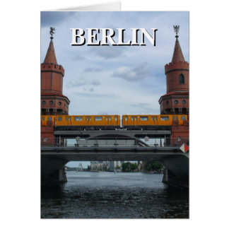 The Oberbaum Bridge, BERLIN Card