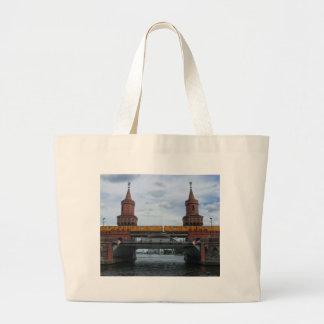 The Oberbaum Bridge, BERLIN Large Tote Bag