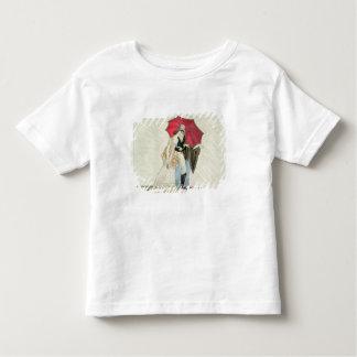 The Obliging Umbrella, plate 40 from 'Le Bon Genre Toddler T-Shirt