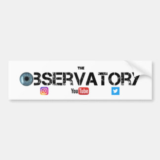 The Observatory Bumper Sticker