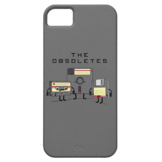 The Obsoletes (Retro Floppy Disk Cassette Tape) iPhone 5 Cover