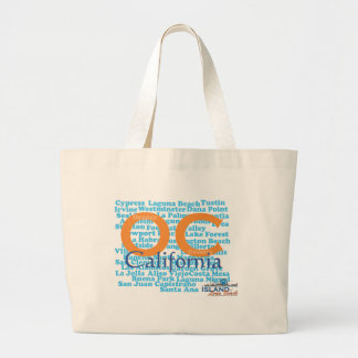 The OC - Orange County, California Large Tote Bag