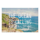 The Ocean is Calling - Maui Coast | Poster