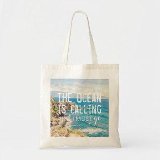 The Ocean is Calling - Maui Coast | Tote Bag