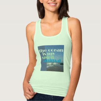 The Ocean is my Spirit Animal Tank Top