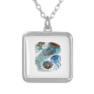 THE OCEAN PULSE SILVER PLATED NECKLACE