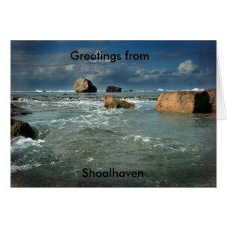 The Oceans Playthings #1_edited-1, Greetings fr... Greeting Card
