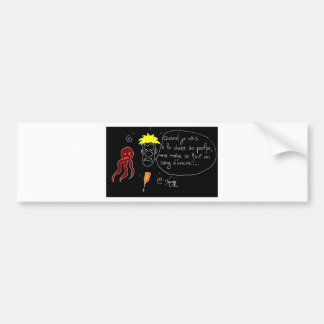 The Octopus is made a Blood of Ink-François city Bumper Sticker