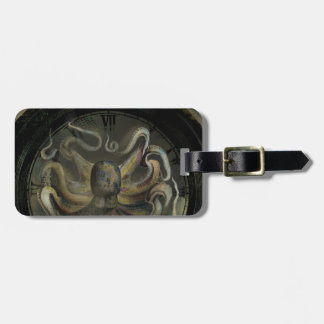 The Octopus of Time Luggage Tag