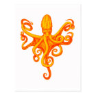 THE OCTOPUS SHINES POSTCARD